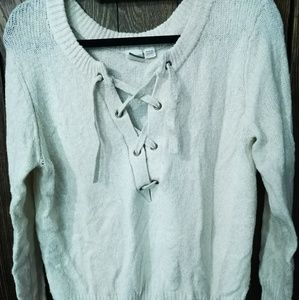 Roxy Laced Up Sweater